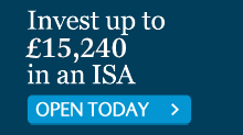 OPEN AN ISA TODAY